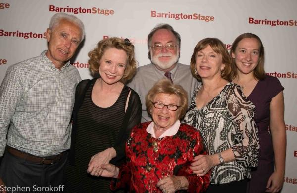 Pierre Lehu, Debra Jo Rupp, Mark St. Germain, Julianne Boyd, Kate Cudworth, Dr. Ruth at Mark St. Germain's DR. RUTH, ALL THE WAY Opens at Barrington Stage Company