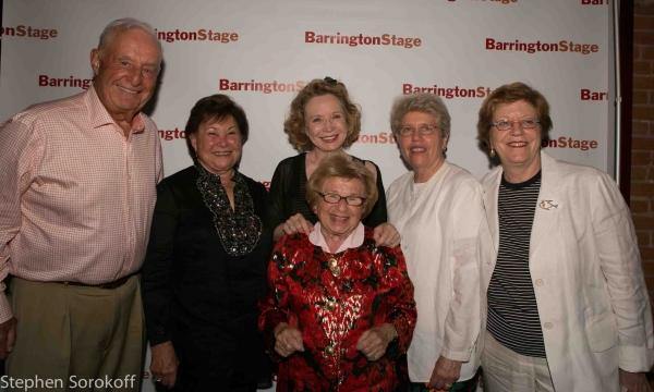 Lee Blatt, Sydelle Blatt, Debra Jo Rupp, Rosita Sarnoff, Beth Sapery, Dr. Ruth