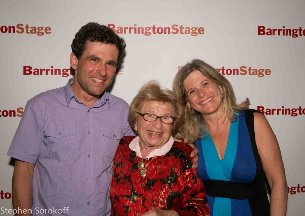 Dr. Ruth & children Joel & Miriam at Mark St. Germain's DR. RUTH, ALL THE WAY Opens at Barrington Stage Company