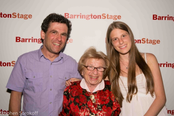 Joel Westheimer, Dr. Ruth, & Grandchild at Mark St. Germain's DR. RUTH, ALL THE WAY Opens at Barrington Stage Company