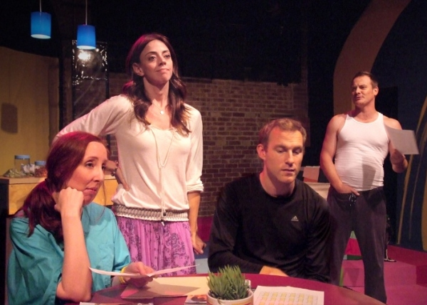 Photo Flash:  First Look at Theresa Rebeck's OUR HOUSE