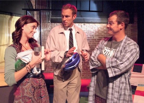 Rachel Germaine, JB Waterman, and Kyle Ingleman