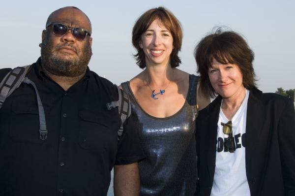 Stew, Joanna Settle, and Heidi Rodewald Photo