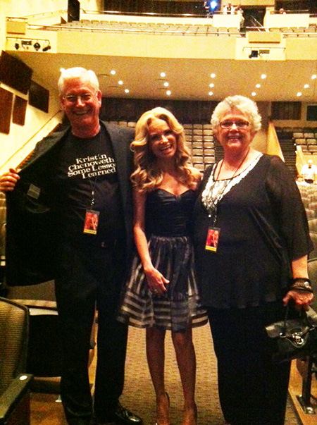 Kristin Chenoweth parents