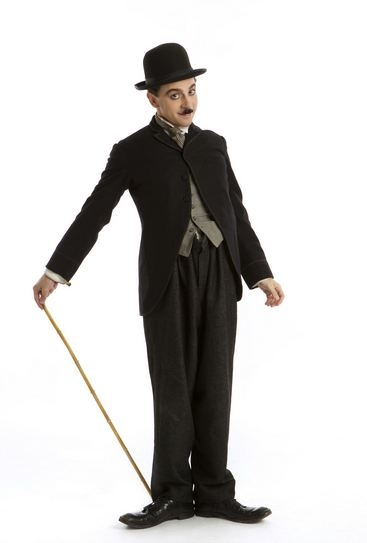 Photo Flash: First Look at Rob McClure as CHAPLIN!