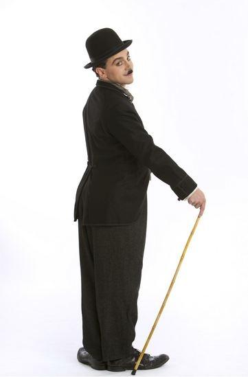 Photo Flash: First Look at Rob McClure as CHAPLIN!