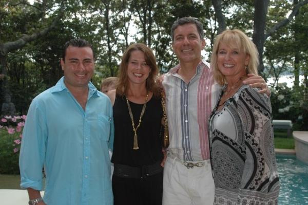 Gary and Annette Bierfriend; Joe and Robin Sparacio Photo