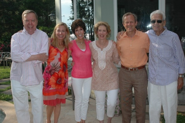 Joe Petrocik, Tracy Mitchell, Susan Goldstein, Karin and David Kuhns; Myron Clement
