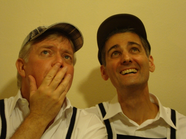 THE DADZ of Pride River: Miles Phillips [Kevin Kelly-Kennedy] & Brian Linden [Kenny K Photo