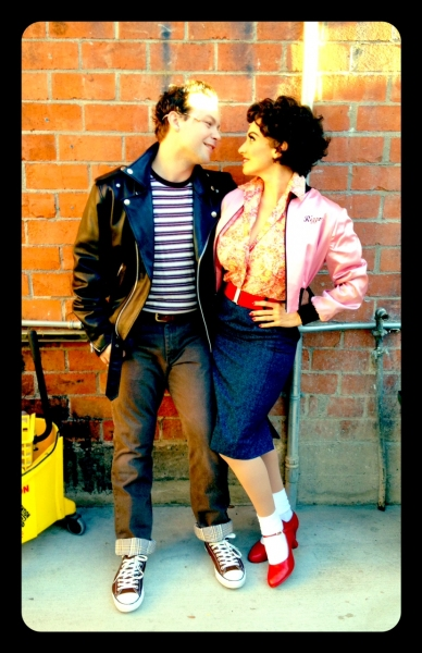 Keven Quillon and Lesli Margherita at  Exclusive Look at Kirsten Scott, Brandon Albright, et al. in Music Circus' GREASE