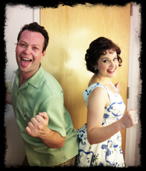 Photo Flash:  Exclusive Look at Kirsten Scott, Brandon Albright, et al. in Music Circus' GREASE