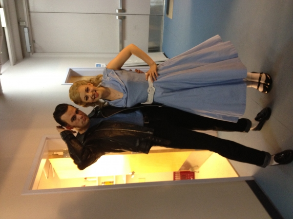 Brandon Albright and Kirsten Scot Photo