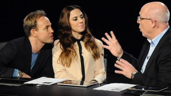 David Grindrod, Jason Donovan and Melanie C Photo