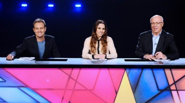 David Grindrod, Jason Donovan and Melanie C