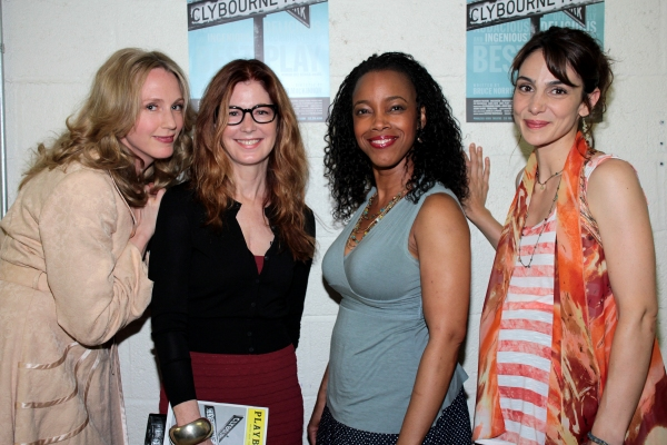 Photo Coverage: Dana Delany Visits CLYBOURNE PARK!