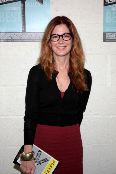 Photo Coverage: Dana Delany Visits CLYBOURNE PARK!