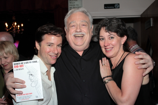 Gordon Greenberg, Ed Dixon, Donna Lynn Hilton Photo