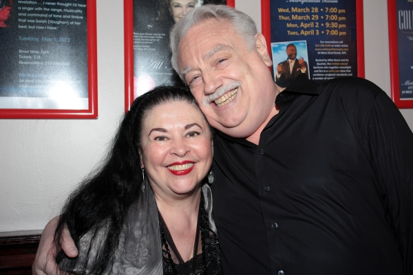 Catherine Malfitano, Ed Dixon at Ed Dixon Celebrates SECRETS... Release at the Metropolitan Room!