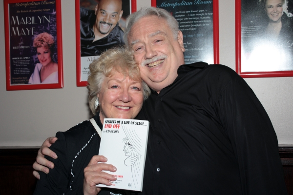 Valerie Boyle, Ed Dixon at Ed Dixon Celebrates SECRETS... Release at the Metropolitan Room!