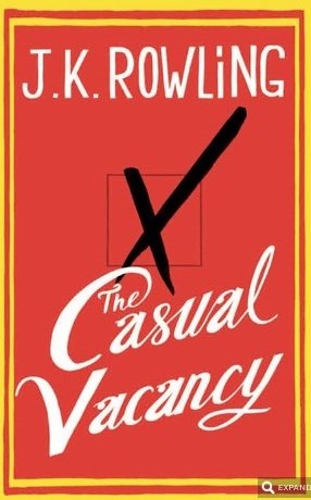 Photo Flash: First Look - Cover Revealed for J.K. Rowling's THE CASUAL VACANCY