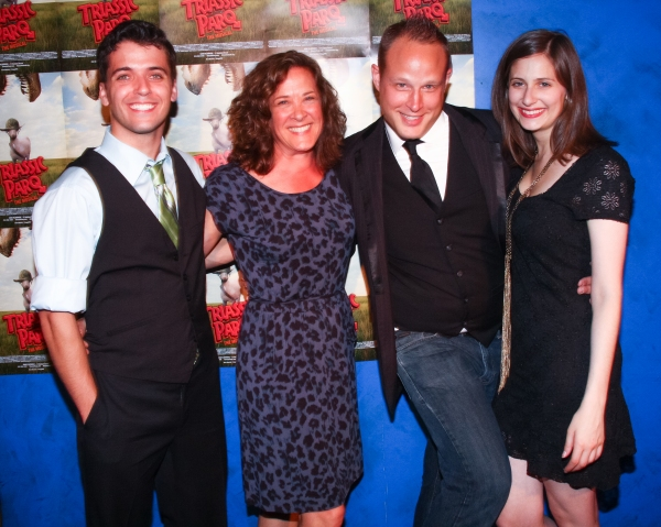 Photo Flash: Lindsay Nicole Chambers et al. at TRIASSIC PARQ THE MUSICAL's Opening Night at SoHo Playhouse
