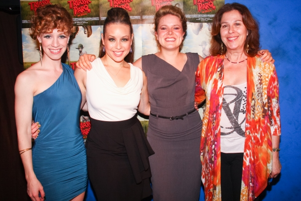 Lindsay Nicole Chambers, Shelley Thomas, Claire Neumann and Producer Donna Trinkoff