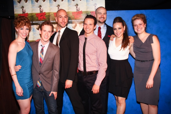 Lindsay Nicole Chambers, Alex Wyse, Wade McCollum, Brandon Espinoza, Lee Seymour, Shelley Thomas and Claire Neumann