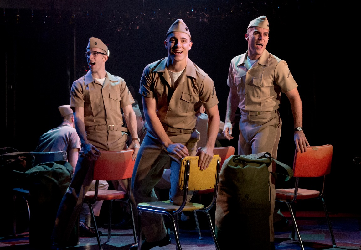 Photo Flash: First Look at Nick Blaemire, Lindsay Mendez et al. in Second Stage Theatre's DOGFIGHT