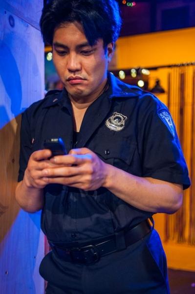 Edgar Eguia as Cop 1