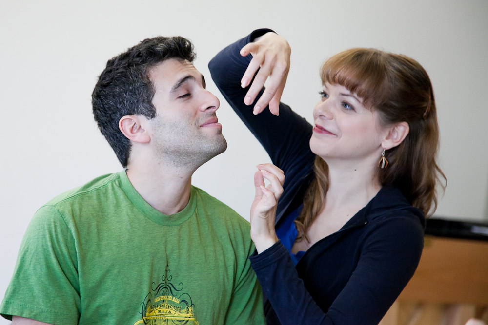 Photo Flash: Jarrod Spector, Catherine Cox et al. in Rehearsal for NYMF's FLAMBÉ DREAMS