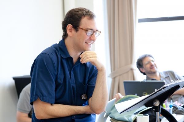 Photos: Jarrod Spector, Catherine Cox et al. in Rehearsal for NYMF's FLAMBÉ DREAMS