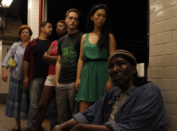 Photo Flash: Danny Bolero, Mel Johnson Jr. et al. in Rehearsal for NYMF's STUCK
