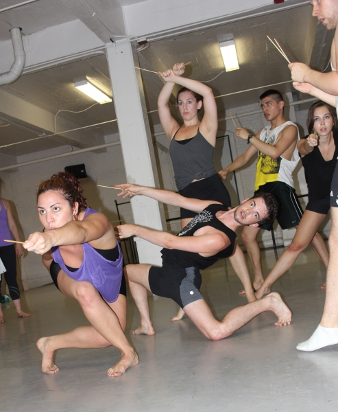 Photo Flash: Liars & Believers' LE CABARET GRIMM in Rehearsal for NYMF