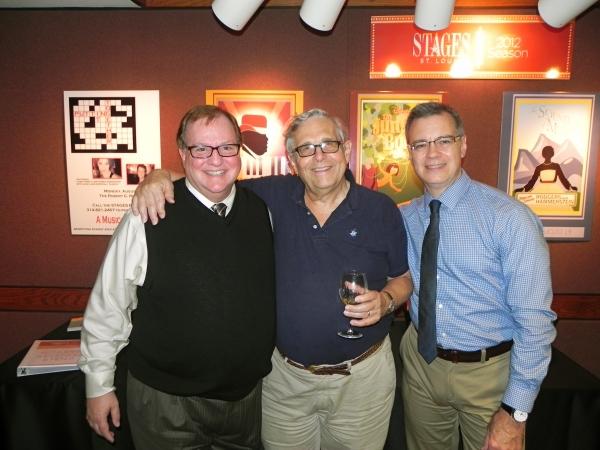 Photo Flash: Richard Maltby Jr. Visits STAGES St. Louis' AIN'T MISBEHAVIN'
