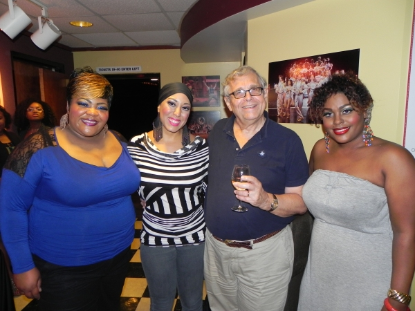 Photo Flash: Richard Maltby Jr. Visits STAGES St. Louis' AIN'T MISBEHAVIN'