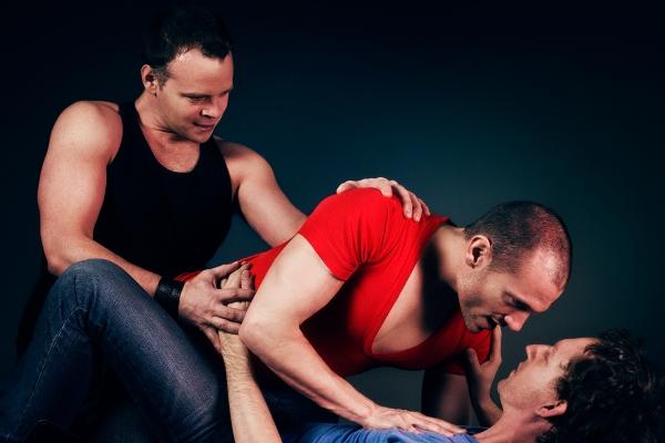 Dale Miller (Henry), John Edwards (Mathew), Ryan Kelly (Michael)