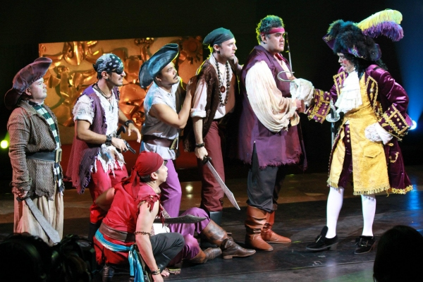 PETER PAN's Hans Eckstein, Robie Zialcita, Meynard Penalosa, Reymund Domingo, Edward Briones, Chino Veguillas, James Stacey, Michael Williams