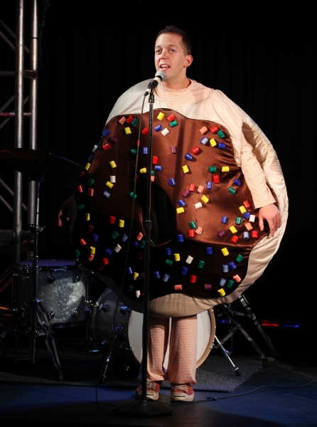 "Tom Deckman   ""Arnie The Doughnut"""
