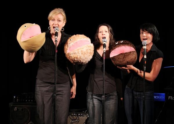 "Jane Blass, Stephanie Fittro and Jennifer Wren  ""Arnie The Doughnut"""