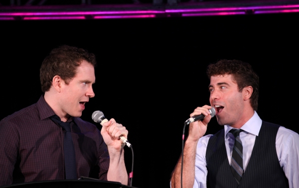 Adam Monley & Omar Lopez-Cepero  'FOREVERMAN' at Matt Bogart, Natalie Toro, Jeremy Kushnier et al. Perform at NYMF Preview!
