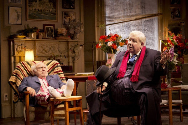 Photo Flash: Danny DeVito and Richard Griffiths in THE SUNSHINE BOYS at Savoy Theatre, Closing July 28
