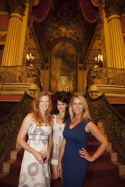 Kelsey Collins, Romi Dames and Erin Murphy