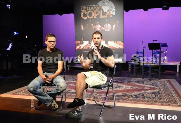 Marc Vilavella se explica mientras Marc Sambola asiente