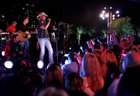 Kenny Chesney at Katy Perry, Kenny Chesney Perform at MACY'S 4th of JULY FIREWORKS