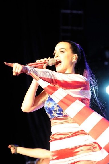 Katy Perry at Katy Perry, Kenny Chesney Perform at MACY'S 4th of JULY FIREWORKS