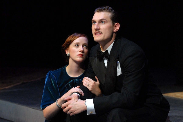 Photo Flash: Sneak Peek at Erin Sheehan and Jeff Church in 2nd Story's REBECCA