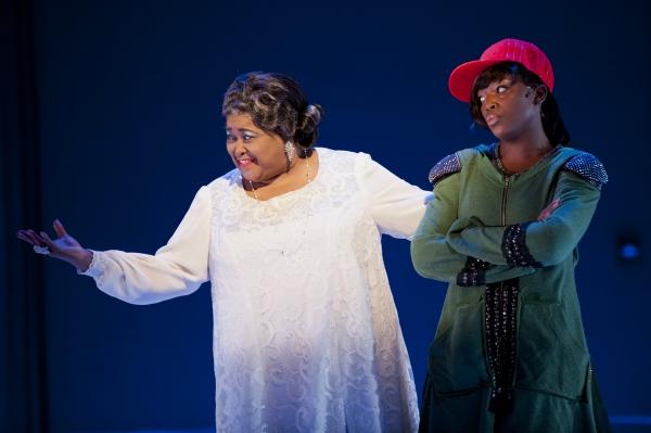 Mother Shaw (Felicia P. Fields) and Yolanda (Marketta P. Wilder)