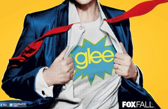 Photo Flash: First Look - GLEE's 2012 Comic-Con Poster