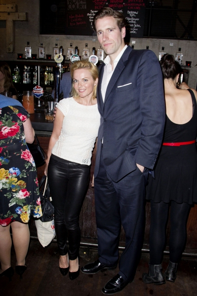 Geri Halliwell and Guest