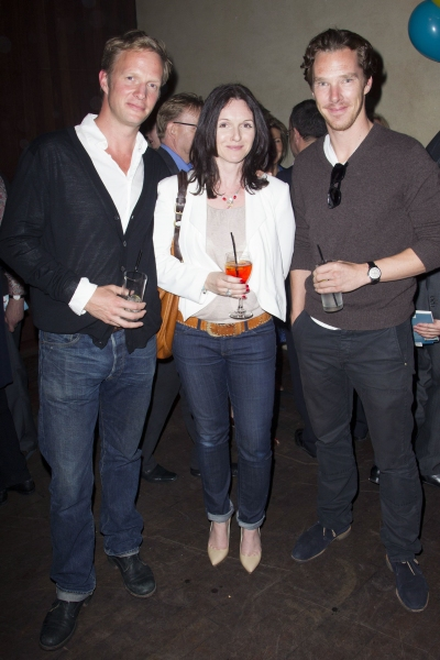 Rupert Penry-Jones, Dervla Kirwan and Benedict Cumberbatch